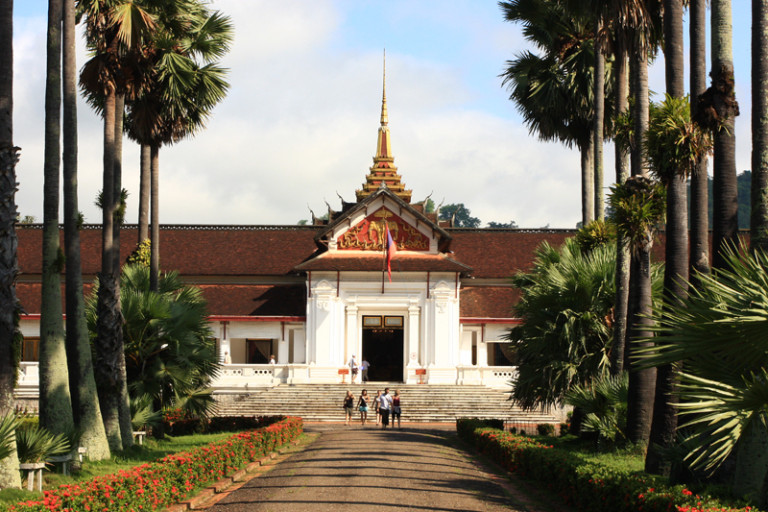 National Museum in Luang Prabang, the former Royal Palace