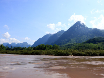 On Mekong River, Laos
