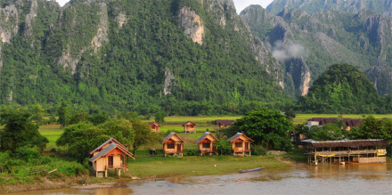 vang vieng wher to stay