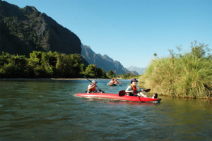Kayaking and Canoeing Tours in Vang Vieng
