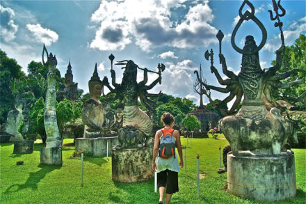 Vientaine Laos is frendly to all backpackers