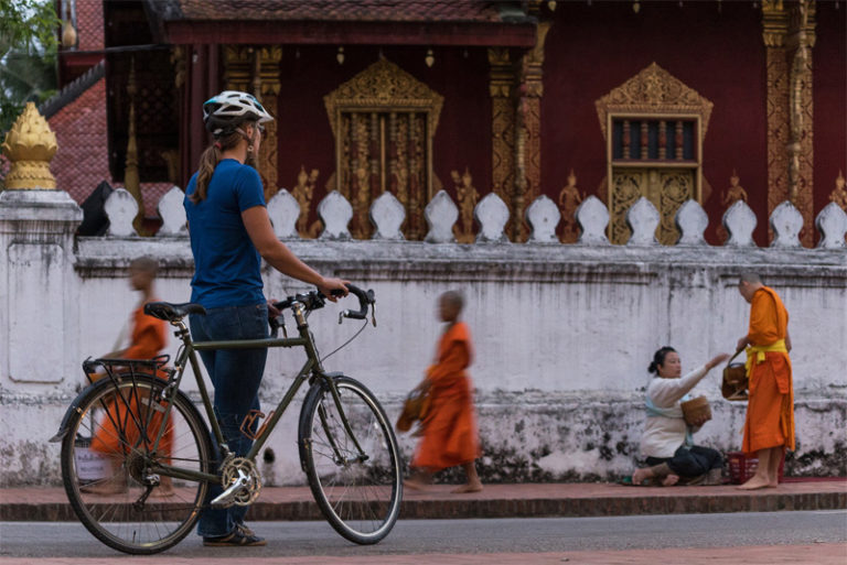 Go Cycling in Laos