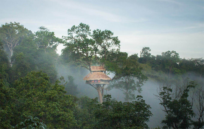 Tips to sleep well in the treehouses in Laos