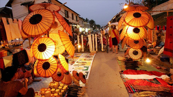 Handicraft Night Market, Luang Prabang