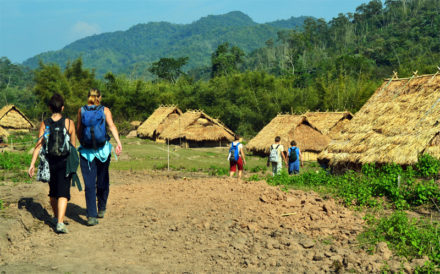 Laos Trekking in Attapeu