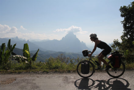 Bike from Luang Prabang to Vang Vieng (Photo credit Katie Moss)