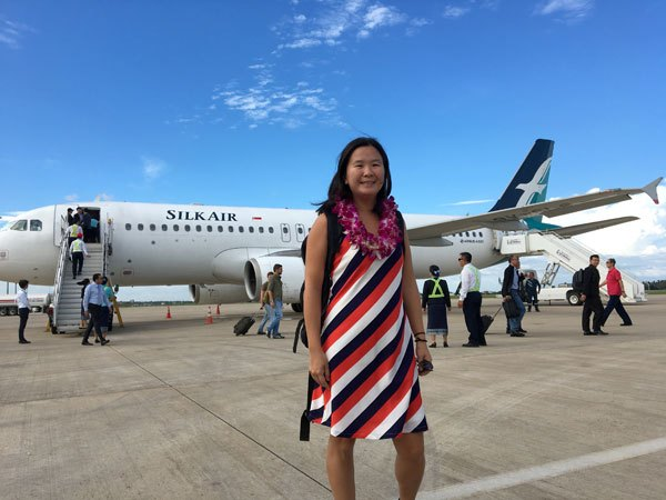 Direct flight from Singapore to Laos by Silkair