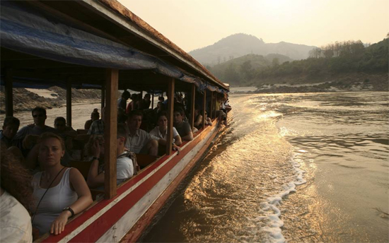 Boat trip from Huay Xai to Luang Prabang