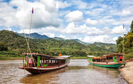 Longboat Tours in Laos