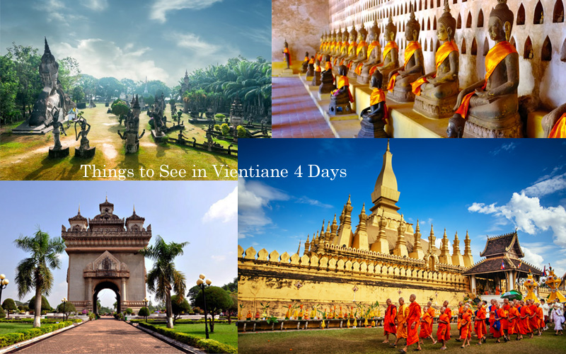 4 Days Laos Tour Itinerary: Things to See in Vientiane