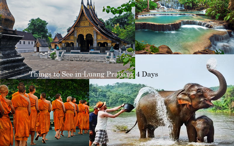 4 Days Laos Tour Itinerary: Things to See in Luang Prabang