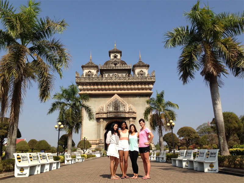 Visit Vientiane during a small group tour to Laos