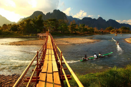 Laos Itinerary 10 Days: Go to Vang Vieng