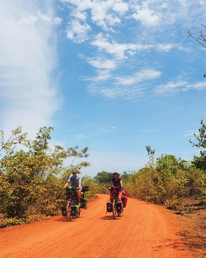 One of best laos cycling routes