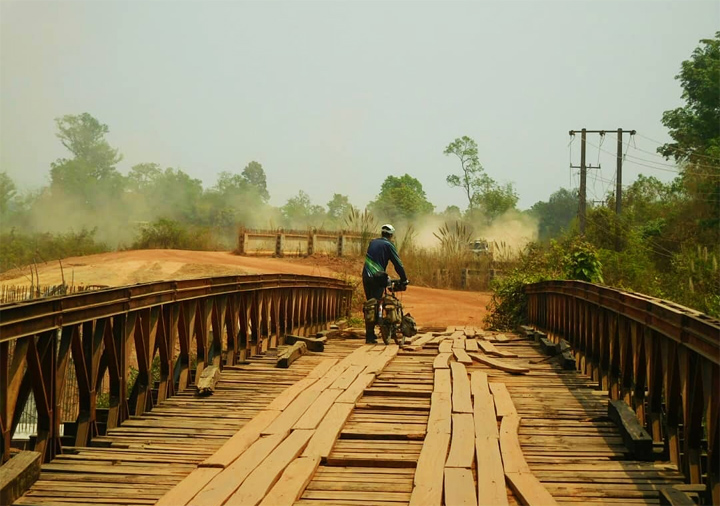cycling tours in laos