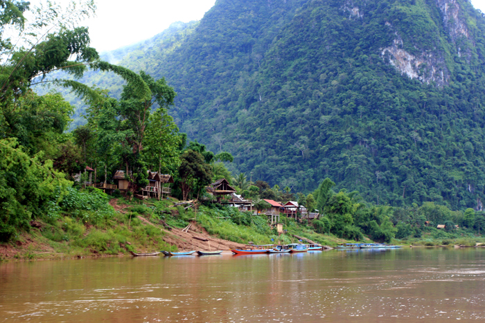 On the river from Muang Khua to Vang Vieng