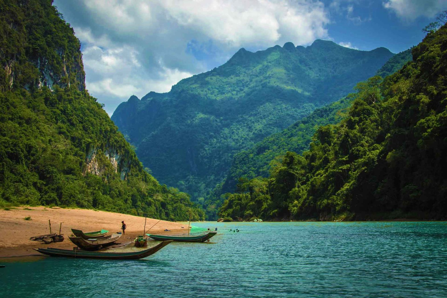 Laos is spotlighted by ecotourism